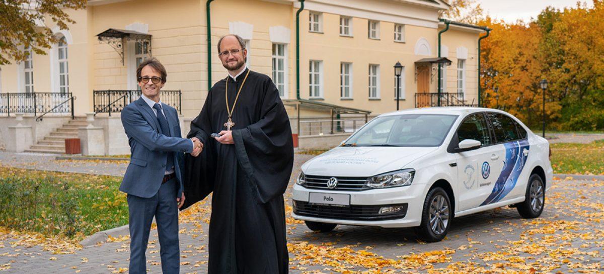 Детский хоспис получил автомобиль для мобильной помощи пациентам на дому