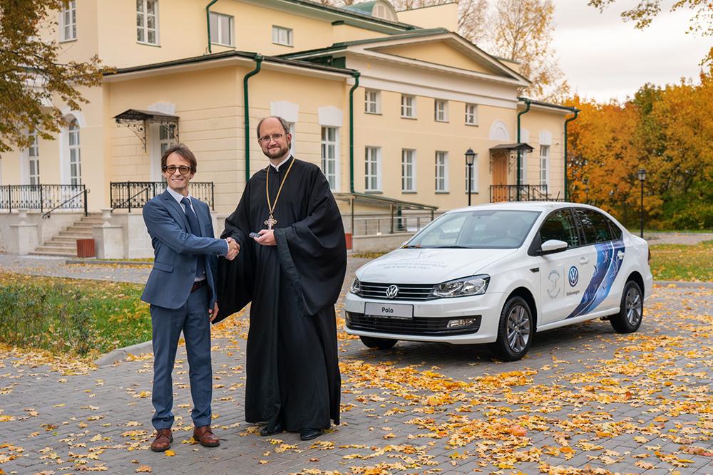 Марка Volkswagen и БФ Детский хоспис
