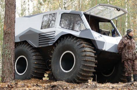 Новая разработка Алексея Гарагашьяна на выставке «Вездеходер»