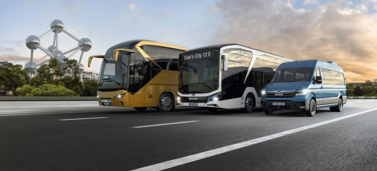 Автобусы MAN на Busworld Europe 2019