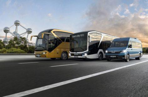 Автобусы MAN на Busworld Europe 2019