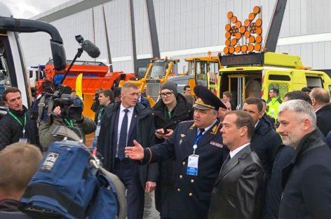 Внедорожник УАЗ Патриот для ДПС на выставке «Дорога-2019»