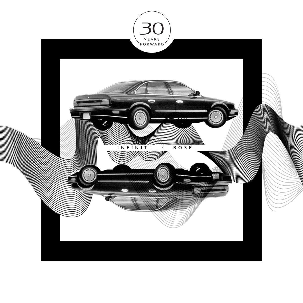 INFINITI и Bose 30 лет