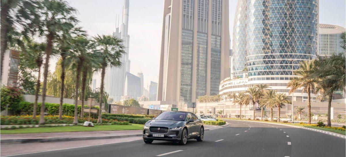 Jaguar представил прототип беспилотного I-pace на Всемирном конгрессе автономного транспорта