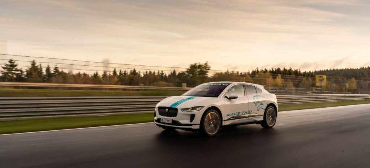 Первое полностью электрическое гоночное такси на трассе Нюрбургринг