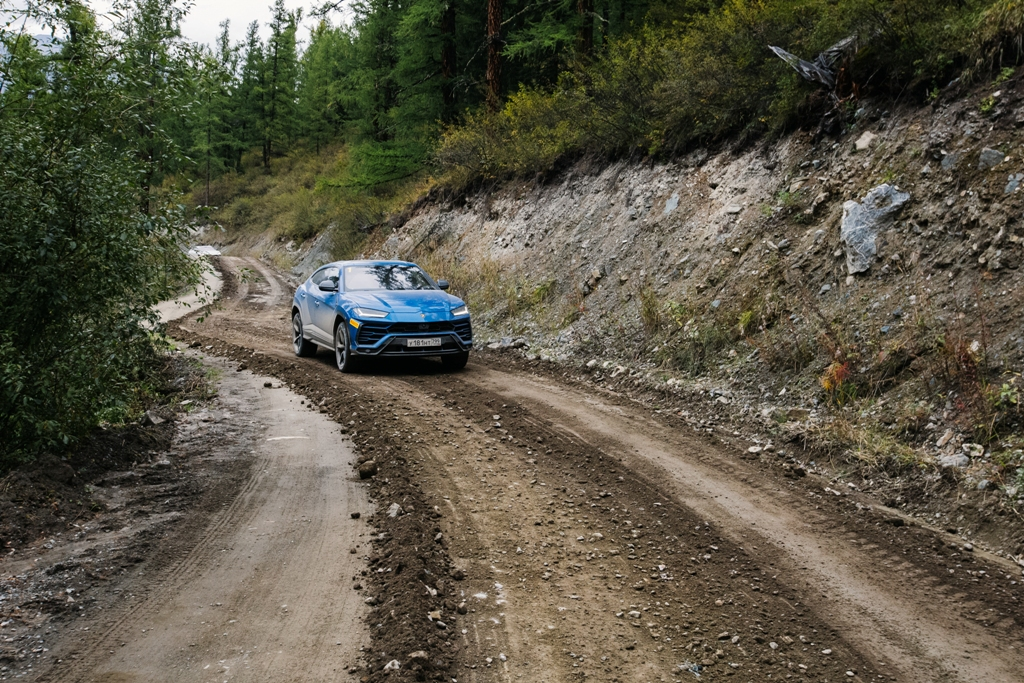 Lamborghini на Алтае