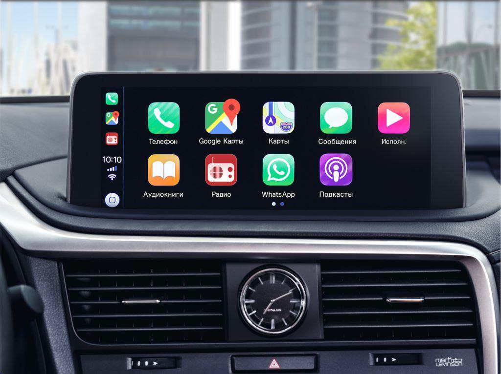 Lexus RX 2019 мультимедиа