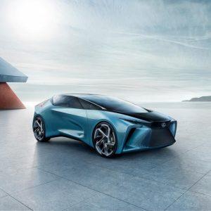 Концепт-кар LF-30 Electrified – это воплощение концепции Lexus по созданию и производству электромобилей