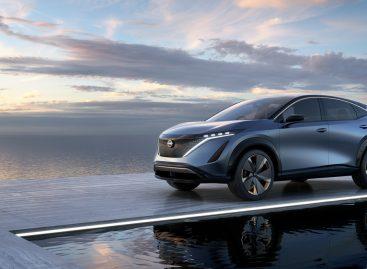 Nissan представил концепт-кар Ariya – новый электрический кроссовер