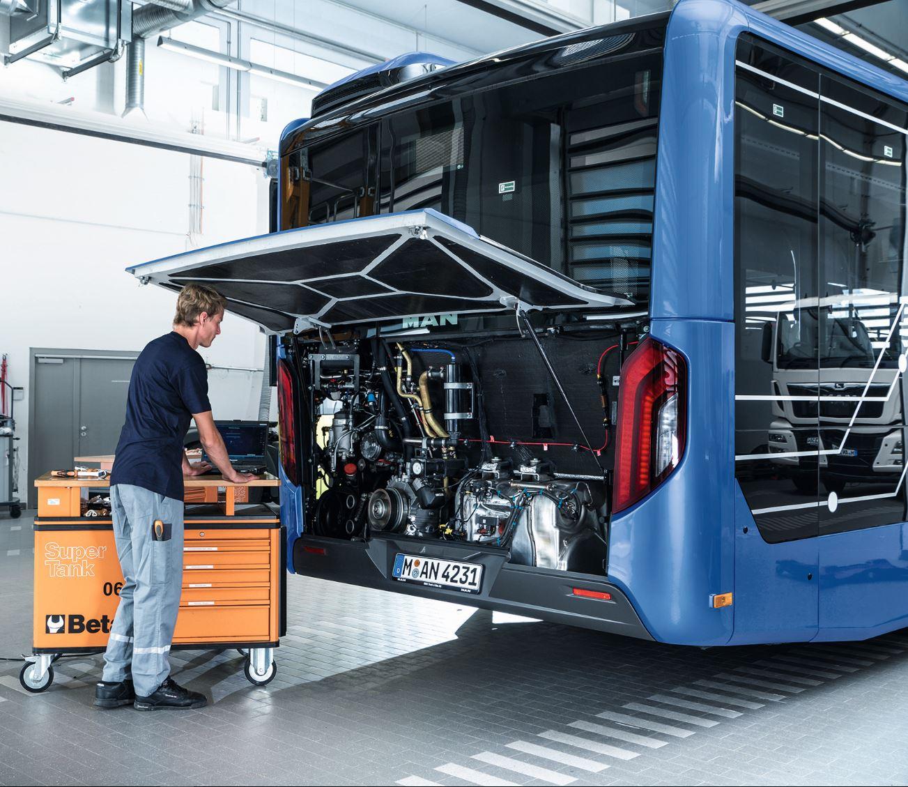 Техобслуживание автобусов