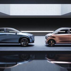 Nissan объявляет о наступлении новой эры дизайна и динамичности, представляя два электромобиля на автосалоне в Токио