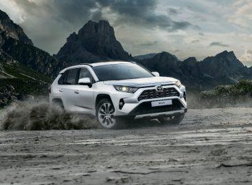 Официальные дилеры Тойота в России начали прием заказов на новый Toyota RAV4 пятого поколения