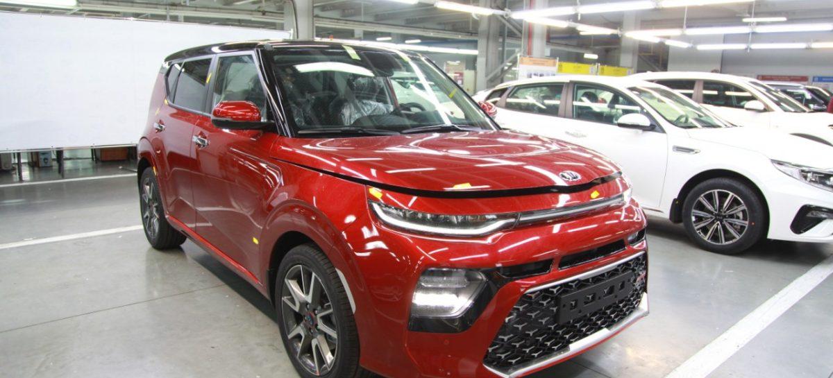 На калининградском заводе началось производство кроссовера Kia Soul по полному производственному циклу