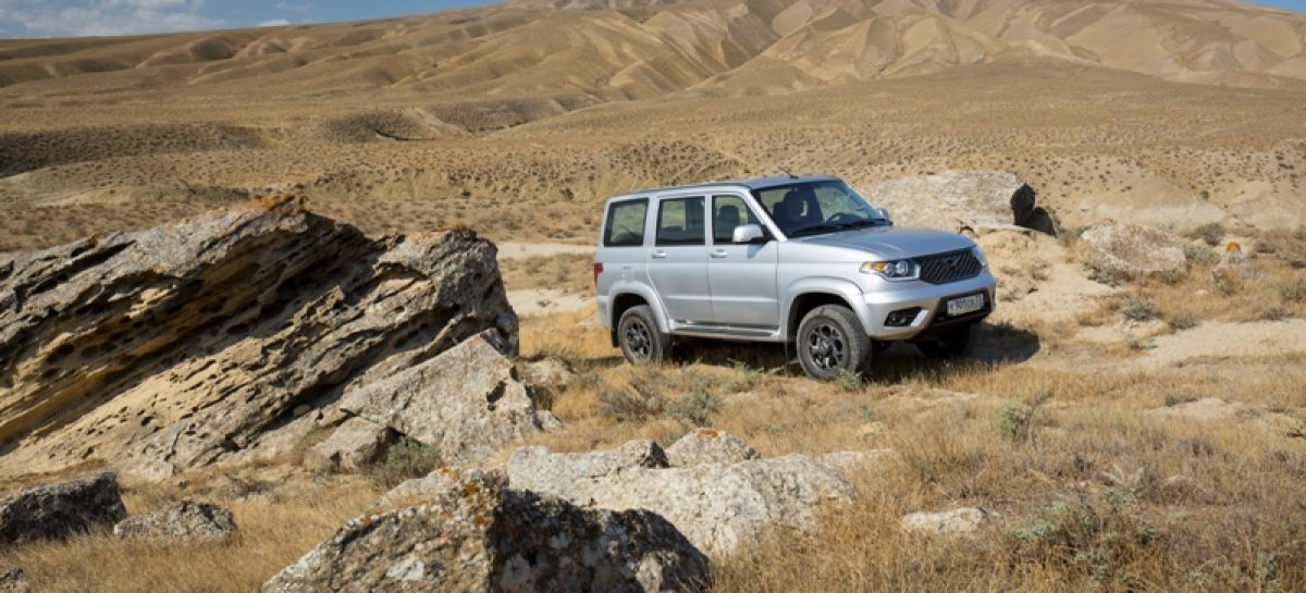 УАЗ Патриот с шестиступенчатой автоматической коробкой передач поступил в продажу