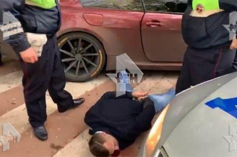Видео задержания сына вице-президента МТС после многочасовой погони