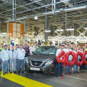 С конвейера завода Nissan сошел 400-тысячный автомобиль