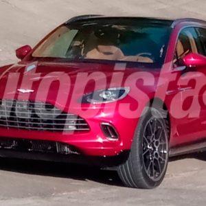 Первые фотографии кроссовера Aston Martin DBX