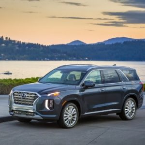 Награда 10 Best User Experiences™ за комплектацию салона у Hyundai Palisade