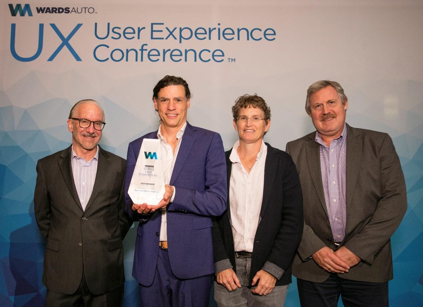 вручение награды 10 Best User Experiences