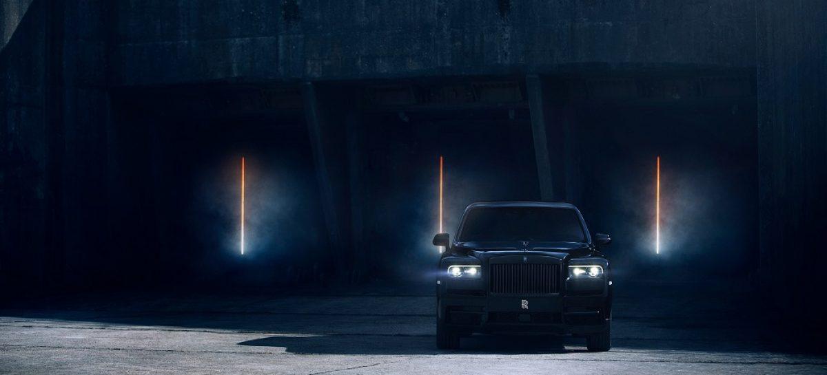 Rolls-Royce представляет Cullinan Black Badge