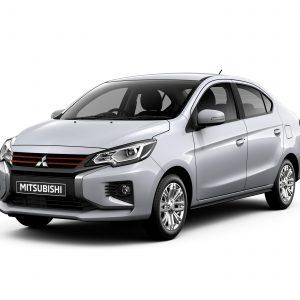 Mitsubishi запустила обновленные компактные модели Mirage и Attrage в Таиланде