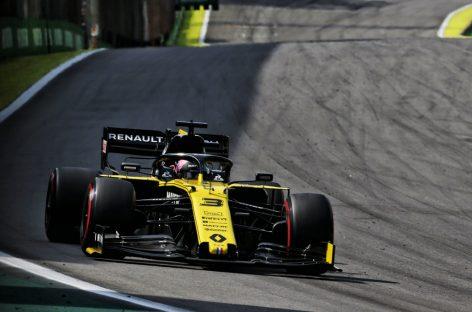 Renault F1 Team на Гран-при Бразилии