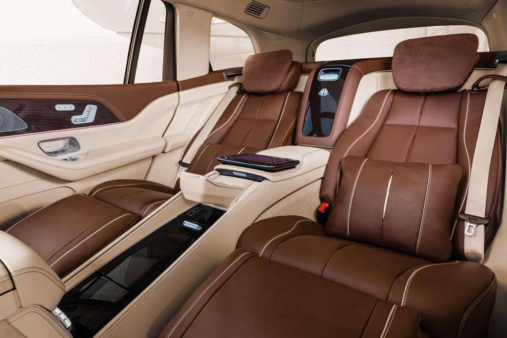 Mercedes-Maybach GLS салон
