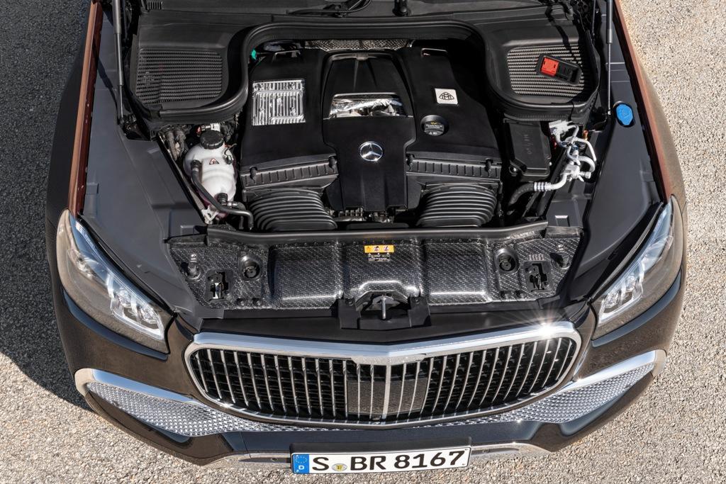 Mercedes-Maybach GLS мотор