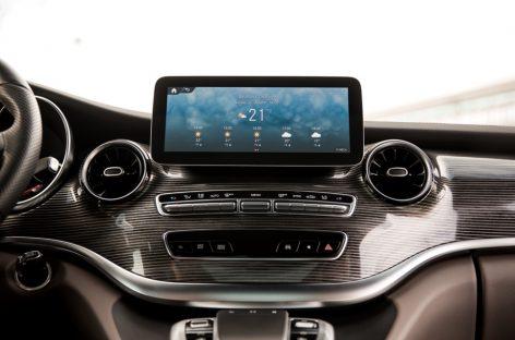 MBUX теперь и для Mercedes-Benz V-Класса