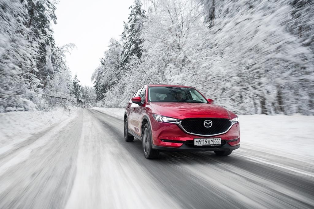 Mazda CX-5 специальной серии «Zima Edition»