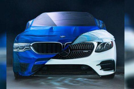 BMW решило вспомнить про извечного конкурента – Mercedes-Benz и сделать ему костюм на Хэллоуин