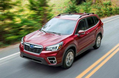 Дилерские центры Subaru начали прием заказов на кроссовер Subaru Forester 2020