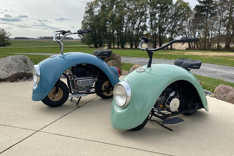 Брент Уолкер в стиле Volkswagen Beetle