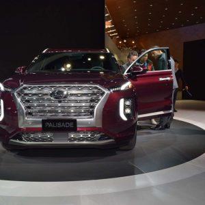 В России запатентован новый кроссовер Hyundai Palisade
