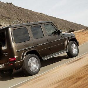 Mercedes разрабатывает электрический Gelandewagen