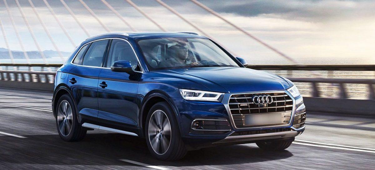 В России отзывают почти 10 тысяч кроссоверов Audi Q5