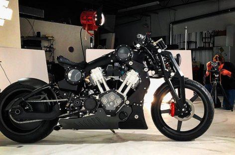 Уникальный мотоцикл выставлен на продажу в России