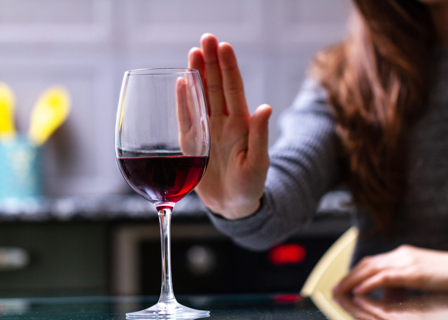 Бокал вина и ты без прав