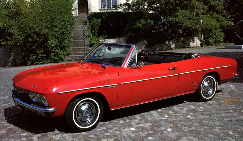 Chevrolet Corvair Corsa Convertible 1965