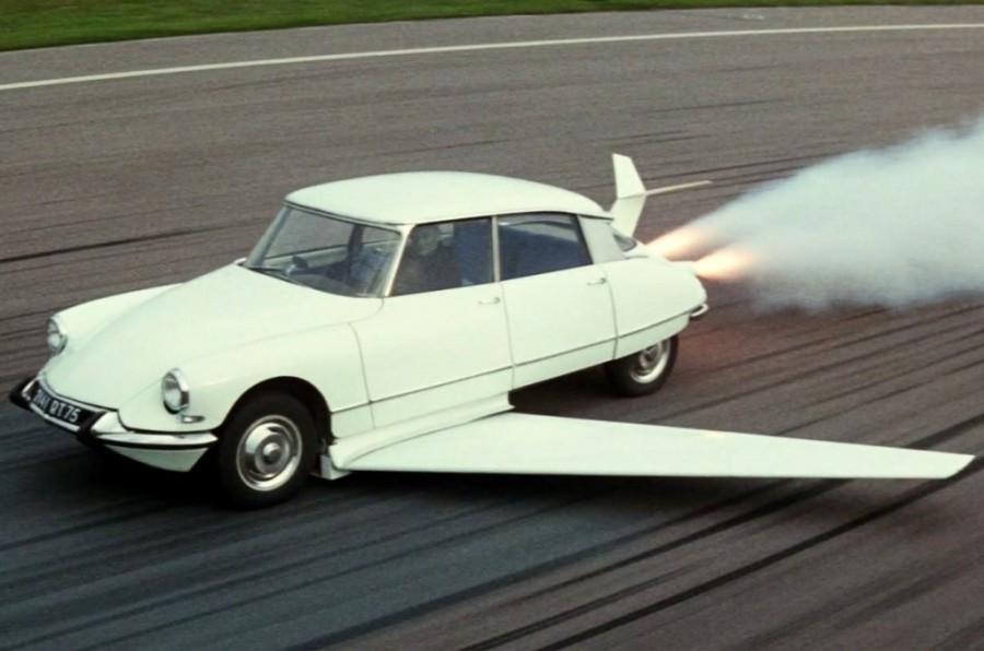 Citroën DS 19 Fantomas se déchaîne 1964