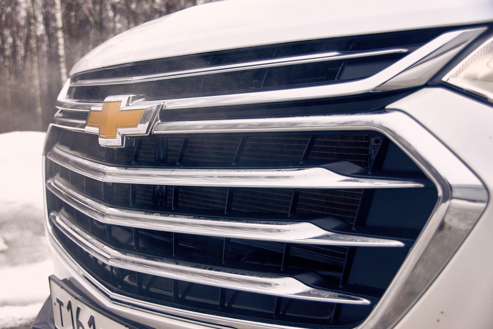 Chevrolet Traverse 2019 зима