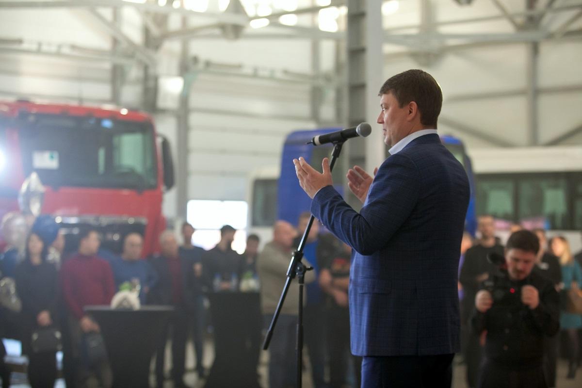 Дилерский центр MAN Красноярск