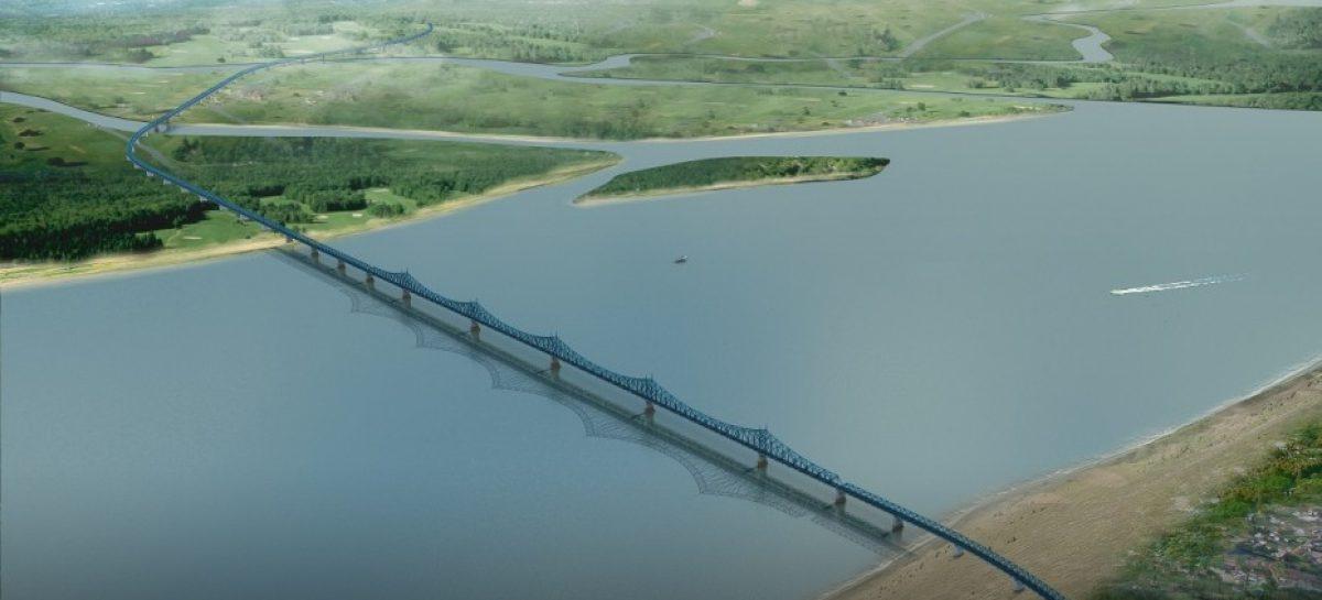 Президент одобрил проект строительства автомобильного моста через реку Лену