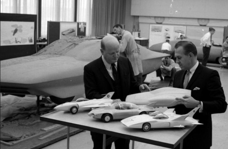 GM design chief Bill Mitchell