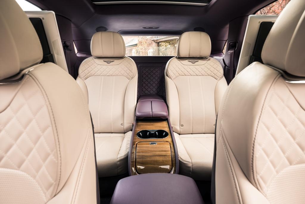 Bentley Bentayga салон