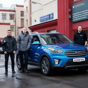В Политехе на базе Hyundai Creta создадут беспилотный автомобиль