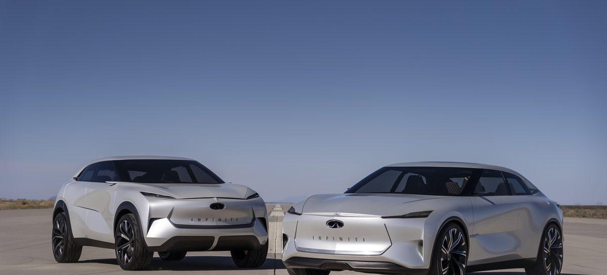 Все будущие серийные модели Infiniti будут представлены на рынке с электрифицированными силовыми агрегатами
