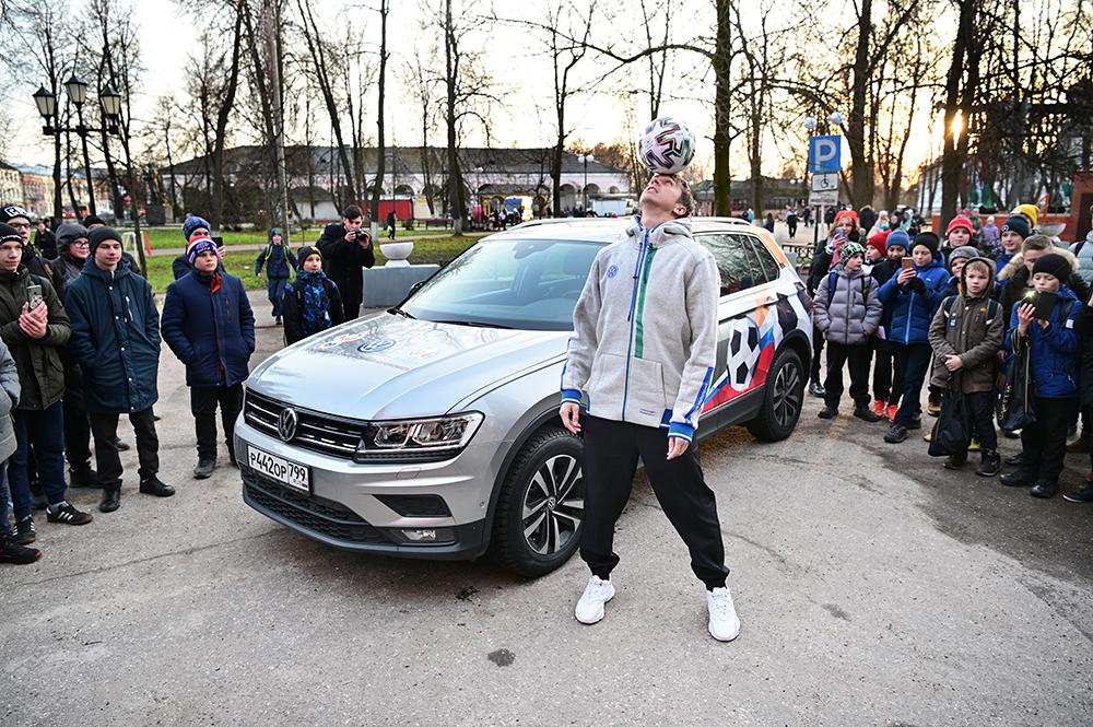Игорь Олейник и Volkswagen Tiguan