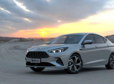 В Китае начались продажи нового Jac A5