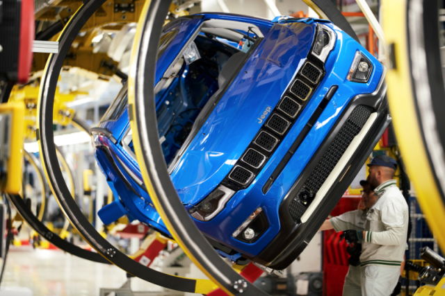 FCA объявил о запуске линии сбора Jeep Compass в Европе